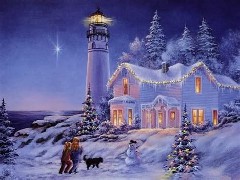 christmas at the lighthouse christmas pinterest