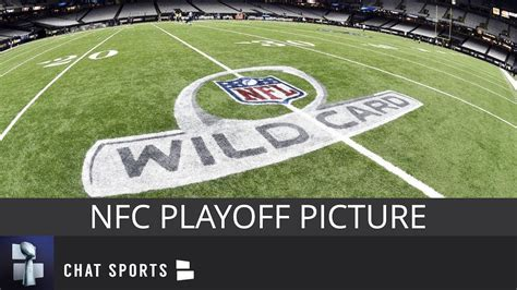 nfc playoff picture schedule matchups   times