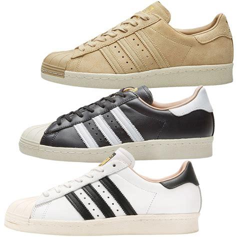 adidas originals superstar  leather sneakers shoes men