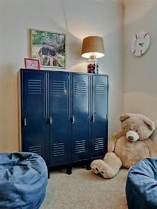 Armoire Metallique Chambre Ado : l armoire m tallique s invite dans tous les types d int rieurs obsigen ~ Melissatoandfro.com Idées de Décoration