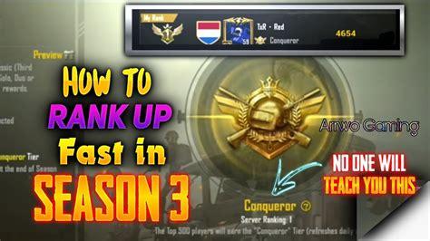 pubg mobile   rank  fast  season