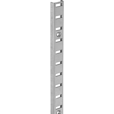 Bookcase Shelving Strips by Bookcase Shelving 980mm Nickel