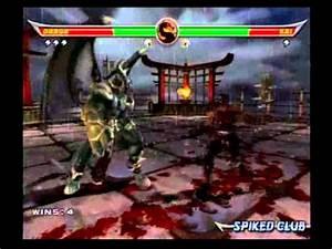Mortal Kombat Armageddon - Onaga - 1/2 - YouTube