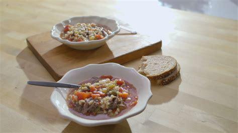 cuisine tele soupe boeuf et orge cuisine futée parents pressés