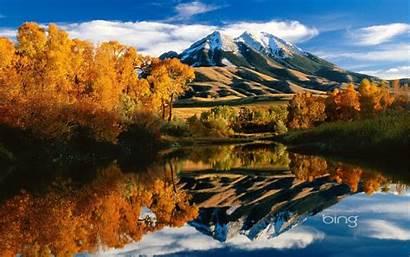 Bing Windows Lake Mountain Wallpapers Montana Autumn