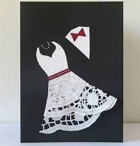 Hochzeitskarte Basteln Vorlage : doily wedding card basteln und mehr pinterest hochzeitskarten karten und hochzeitsgeschenke ~ Frokenaadalensverden.com Haus und Dekorationen