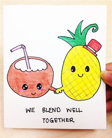 we sign our cards and letters bff we blend well together and card for boyfriend 50002