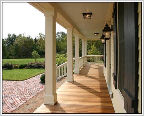 porch column wraps home design ideas