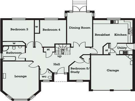 5 bedroom floor plans 5 bedroom bungalow in 5 bedroom bungalow floor plans