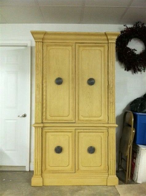 stanley furniture bedroom armoire antique  drawers tv