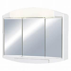 Spiegelschrank 3 Türig Mit Beleuchtung : jokey spiegelschrank elda 3 t rig kunststoff mit beleuchtung energieeffizienzklasse a bis b ~ Bigdaddyawards.com Haus und Dekorationen