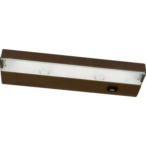 Home Depot Hardwired Cabinet Lighting by Progress Lighting 24 In White Undercabinet Fixture P7014