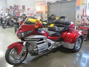 2012 Honda Goldwing Trike, California Side Car Trike
