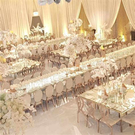white luxury wedding decor  wonderful  beautiful