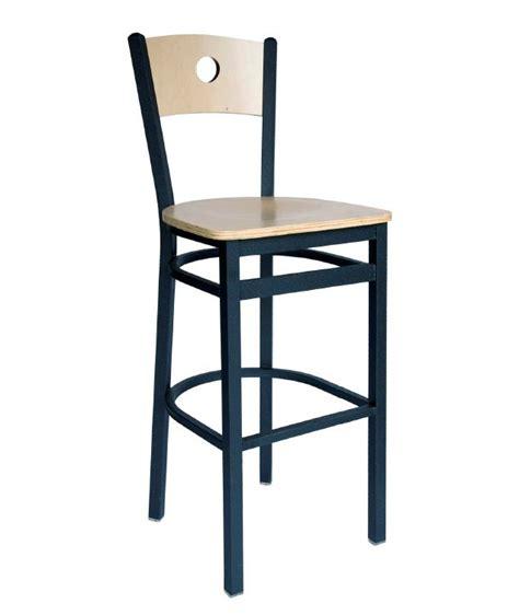 commercial circle back bar stool bar restaurant