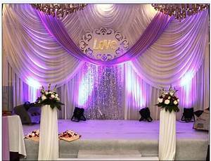 20ft*10ft Wedding backdrop with swags event and party