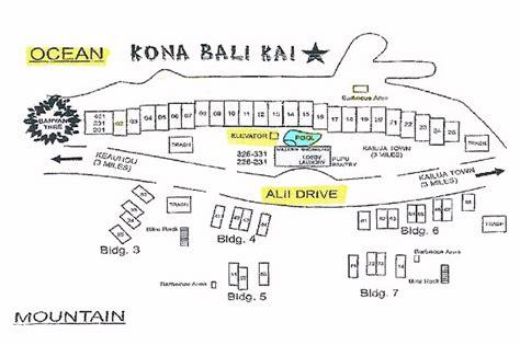 map layout kona bali kai