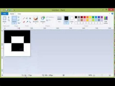 how to invert colors in paint in windows 7 and windows 8