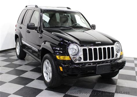 jeep limited 2006 2006 used jeep liberty limited 4wd suv at eimports4less