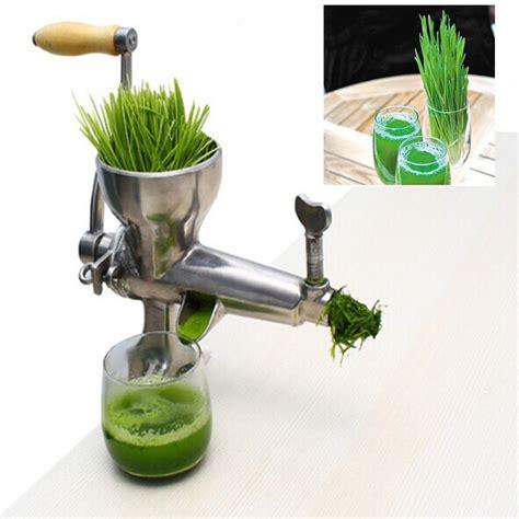 juicer fruit stainless steel machine hand grass grape vegetable wheat fresh apple orange wheatgrass manual cucumber household juicers juicing zf