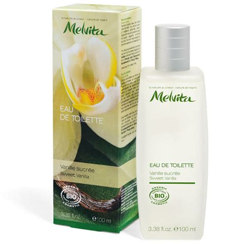 melvita eau de toilette bio parfum vanille sucr 233 e