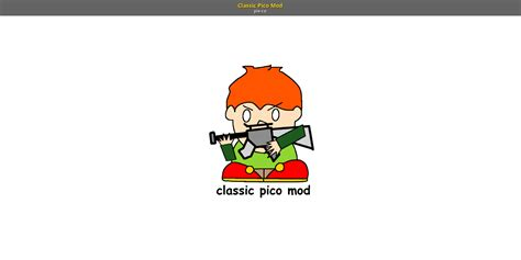Classic Pico Mod Friday Night Funkin Skin Mods