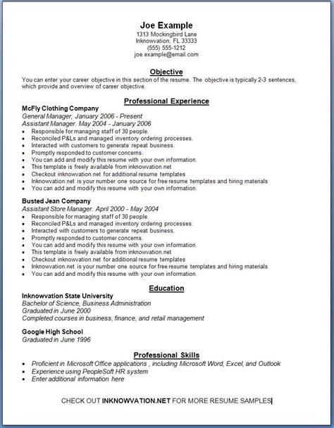 Cv Free by Curriculum Vitae Wordpad Modelo De Curriculum Vitae