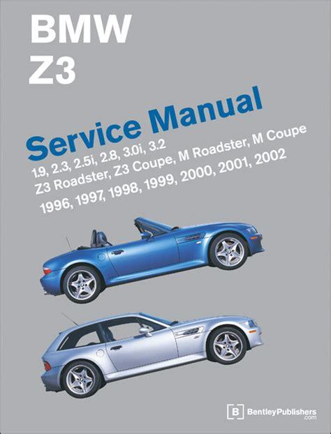 Bmw Z3 Service Manual 19962002 Xxxbz02
