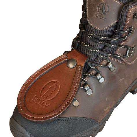 bisley leather toe protector barrel rest  shoe