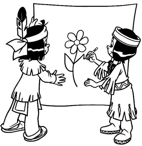 indianer kostüm für kinder malvorlagen yakari 01 ausmalbilder ausmalbilder