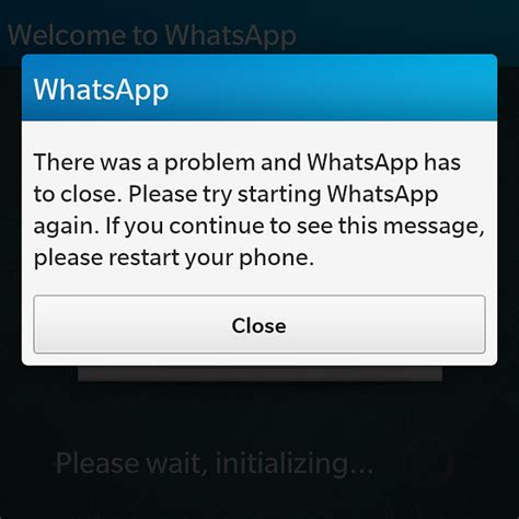whatsapp crashing after 10 2 update blackberry forums at crackberry