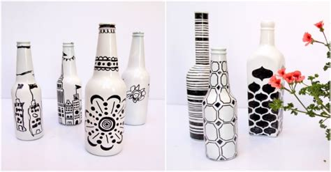 How To Make Diy Decorative Glass Bottles