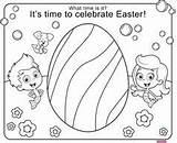 Guppies Bubble Coloring Pages Easter Guppy Nick Jr sketch template