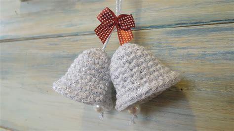 crochet   crochet  christmas bell decoration