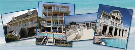 Myrtle Rental Houses by Myrtle Vacation Rentals Vacations