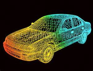 computer aided design computer aided design of a car stock image t476 0084 science photo library