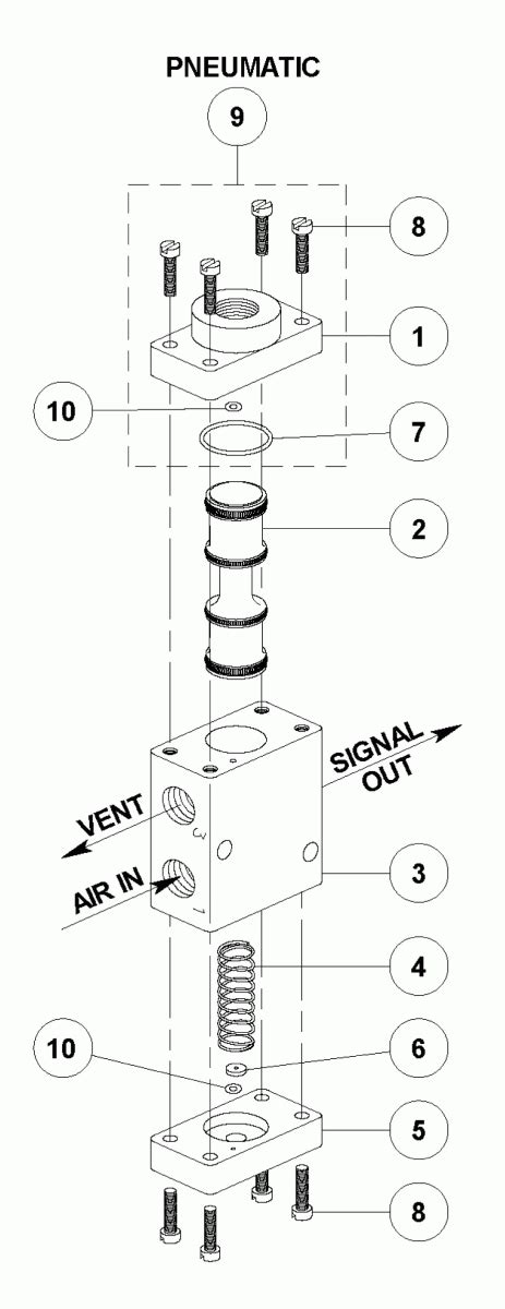 Canfield & Joseph - Schmidt Control Valve - Electric