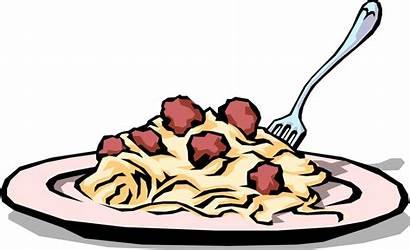 Clipart Italian Meal Dinner Transparent Spaghetti Meatball