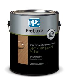 deck stain ppg proluxe