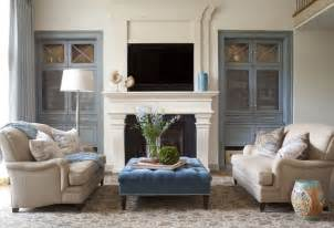 cherry hills remodel transitional living room denver
