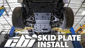 Cbi Offroad Skid Plate Install - And