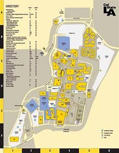 Csula Campus Map | World Map 07