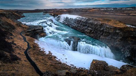 gullfoss waterfall iceland travel photography check