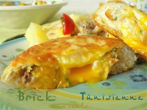 de cuisine tunisienne brick tunisienne à l 39 oeuf le cuisine de samar