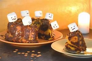 Gateau D Halloween : g teau d 39 halloween facile g teau marbr potiron chocolat au fil du thym ~ Melissatoandfro.com Idées de Décoration