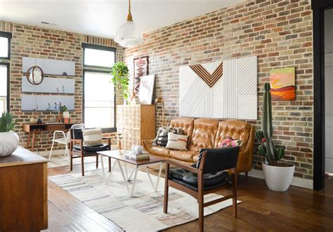 Wohnzimmer Loft Style by Loft Living Room And Entryway Vintage Revivals