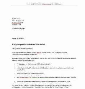Wie Kündigt Man Eine Wohnung : vorlage m ngelr ge muster ~ Lizthompson.info Haus und Dekorationen