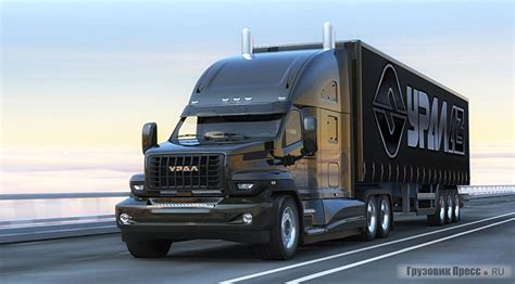 russian future truck ural  iepieleaks