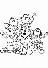 Cbeebies Tweenies Coloring Pages Bbc Popular Paper Tocolor Button Using sketch template
