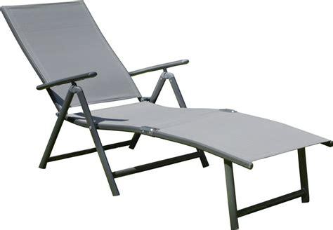 siege plage pliable bain de soleil aluminium pliable design en image